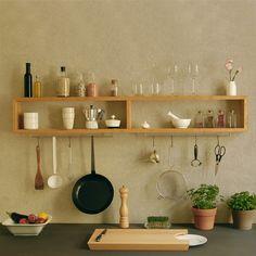 Longboard - Regal für Küche und Bad