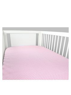 40% OFF Olli & Lime Kids Logan Fitted Sheet, Pink