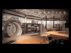 Building 3D Environments: The Martian Hab | The Rookies