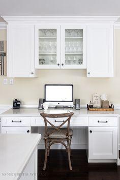 70 Kitchen Desks Ideas Kitchen Desks Built In Desk Kitchen Office