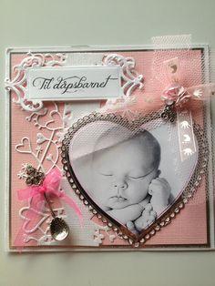 Dåpskort til jente