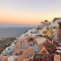 Greece Travel   Sunset Over Greece   tropical Destinations   Dream Destinations