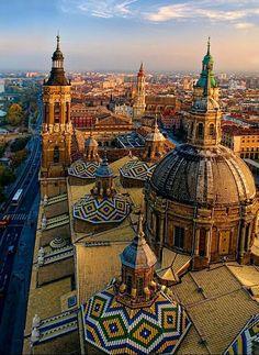 Basilica del Pilar, Zaragoza Spain