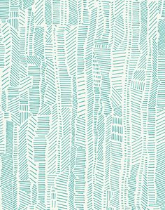 Blue Aesthetic Discover Overview A mix of structure and character a practiced balance of expressive mark-making and thoughtful composition. Linear Field is versatile and modern - in aqua blue on ivory. POPPY offers a water- Linear Pattern, Surface Pattern Design, Pattern Art, Vector Pattern, Textile Patterns, Color Patterns, Print Patterns, Mark Making, 3d Foto