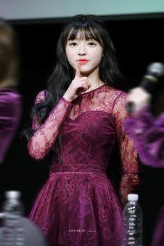 180120 팬사인회 South Korean Girls, Korean Girl Groups, Rapper, Oh My Girl Yooa, Sistar, Kpop Girls, Formal Dresses, Random, Celebrities