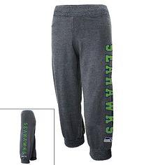 Seattle Seahawks Capri Sweatpants - Juniors