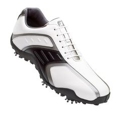MENS FOOTJOY SUPERLITES GOLF SHOES WHITE/BLACK 58125 // love my golf shoes, I hate they discontinued this style and replaced it with crap