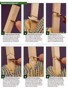 #281 5 Minute Wizard - Wood Carving Patterns - Wood Carving