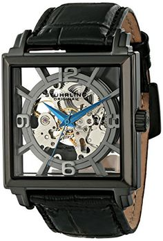 "Stuhrling Original Men's 333N.335554 ""Classic Winchester Plaza"" Stainless Steel Automatic Watch"