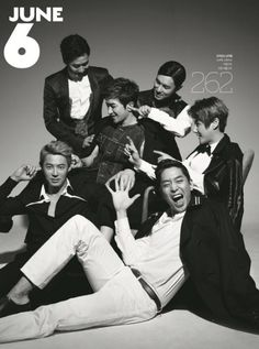 Shinhwa to grace the cover of GQ