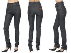 High rise jeans were popular in the past when a majority of people believed in being clothed modestly. But the bold new generations of the past decade have discarded them in favor of low rise jeans that expose their waistline and underwear. However, Women's High Rise Jeans have never gone out of fashion because there are still many people who believe in dressing modestly and more importantly because they can be chic and sophisticated if worn correctly.
