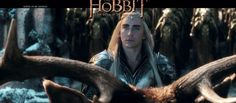 New picture of Thranduil and his battle moose. :D