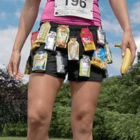 Carbs on the Run: How to get the right amount of fuel so you don't hit the wall or the porta-potty.