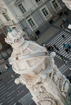 #Madrid desde el #Palacio de Cibeles