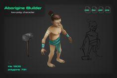 Aborigine Builder by stallfish's art store on @creativemarket