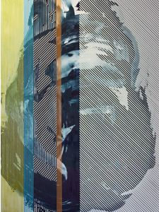 "Chris Trueman's ""Stripe Series"" at Salazar Contemporary Art and White Box Contemporary (via @DiscoverSD)"