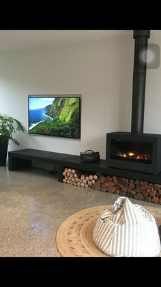 The Horama is looking very much at home in this new renovation. The stands can b… #Fireplace