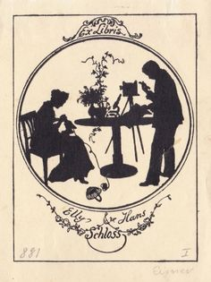 ORIGINAL EXLIBRIS EX LIBRIS BOOKPLATE