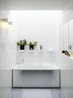 Tiny bathrooms, clever solutions