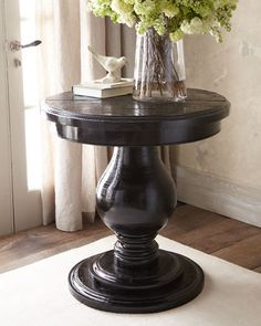 Humbolt side table...nice and solid looking.