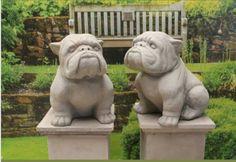 Bulldog Statues Bulldog Statue Dog Sculpture Animal Statues