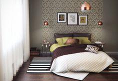 Обои для спальни  #дизайн #интерьер  https://myidealdesigns.com/oboi-dlya-spalni/
