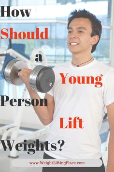 So am I too young to start lifting weights? The answer to this question is: the crucial point is that lifting weights safely, requires that you are aware of the dangers, know how to pace yourself, and are willing to learn proper technique. Muscle Fitness, Gain Muscle, Men's Fitness, Muscle Men, Build Muscle, Weight Lifting Tips, Weight Training Programs, Bikini Competition Prep, Fitness Competition