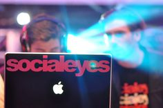 Promo idea for DJs // Custom laptop skins at www.GelaSkins.com/create