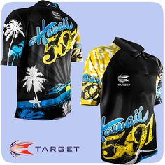 Target Wayne Mardle Hawaii 501 Shirts are available to pre-order at Darts Corner today! Launching on 16th November 2015 - http://www.dartscorner.co.uk/product_info.php?products_id=12900