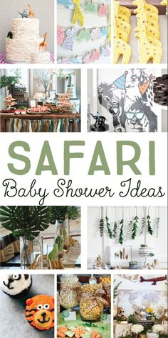 Baby Girl Shower Themes, Gender Neutral Baby Shower, Baby Boy Shower, Baby Shower Centerpieces, Baby Shower Decorations, Safari Theme Party, Safari Theme Baby Shower, Safari Wedding, Jungle Theme