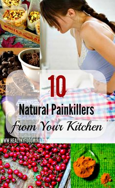 10 Natural Pain Killer's the Might be in Your Kitchen Already! While drugs can reduce pain by blocking various chemicals that trigger it, there are a number of natural remedies that are just as effective – and without the side. Natural Health Remedies, Natural Cures, Natural Healing, Herbal Remedies, Health And Beauty Tips, Health Tips, Health And Wellness, Natural Medicine, Herbal Medicine