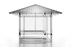日本建築をクールに表現。デザイナー吉岡徳仁が制作したガラスの茶室「Glass Tea House」