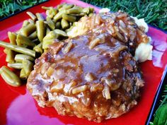 Easy Salisbury Steaks with Onion Gravy | Veronica's Cornucopia