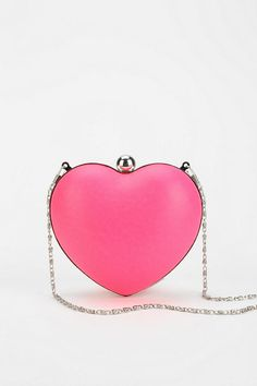 Cooperative Heart Hard-Case Crossbody Clutch #urbanoutfitters