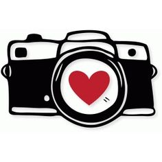 Download Silhouette Online Store: heart camera - all Silhouette cut ...