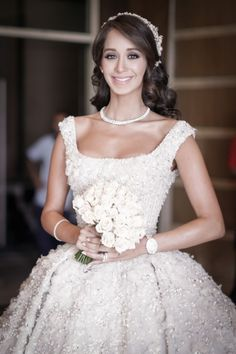 Lana El Sahely, Real Weddings, Bride, Wedding