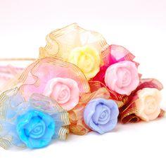 結婚進場分享禮 香皂玫瑰花束 : 心願幸福婚禮小物