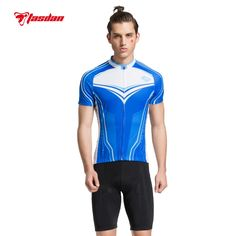 38.35$  Watch here - http://alig5g.shopchina.info/go.php?t=32672244874 - Tasdan Cycling Wear Mountain Bikes Clothes Cycling Clothing Cycling Jerseys Men Cycling Jerseys Sets Blue for Racing Bikers  #SHOPPING