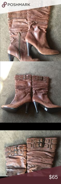 ALDO long boats These amazing long and warm Aldo boats are ready to go . Super good condition. Soft . Heels . Aldo Shoes Heeled Boots