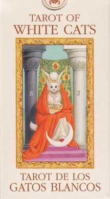 Tarot of the White Cats Mini deck by Baraldi Divination Cards, Tarot Cards, Tarot Learning, Tarot Card Decks, Tarot Spreads, Tarot Readers, White Cats, Oracle Cards, Cat Art