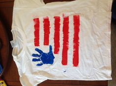 A T-Shirt for all of the summer Patriotic holidays!!
