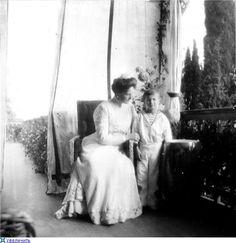 Alexandra and Alexei Romanov
