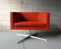 TOMATO mid century Modern styled LOUNGE CHAIR