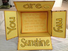 Sunshine care package box!