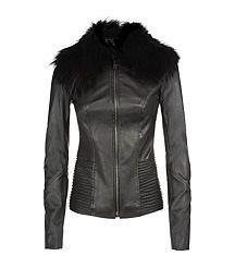 Harrods of London Fur Trim Jacket