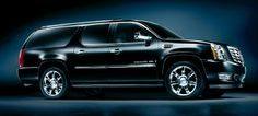 Cadillac Escalade ESV  To go skiing in style with my friends.