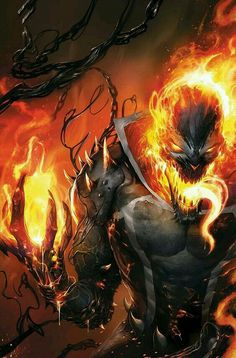 Tagged with ghost rider, marvel comics, venomverse; Comic Book Characters, Comic Character, Comic Books Art, Marvel Characters, Marvel Comics Art, Marvel Heroes, Marvel Avengers, Captain Marvel, Ms Marvel