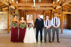 Rustic Chic, navy and burgundy SoCal wedding.
