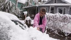 ¿Capricho de la naturaleza? En verano una rara tempestad de nieve fustiga estados de las rocosas, Dakota del Sur, Wyoming, Montana y Colorado - http://www.presenciarddigital.net