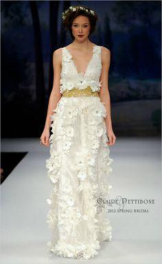 Claire Pettibone 2012 Spring Bridal
